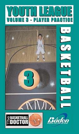 Youth League Basketball Player Practice Basketball Training DVD (Volume 3)