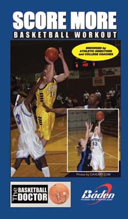 Score More Basketball Workout - Basketball Training Video (VHS)