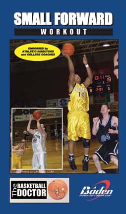 Small Forwards Workout - Basketball Training Video (VHS)