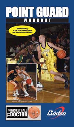 Converse Point Guard  Playmaker Workout Basketball Training DVD