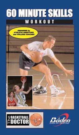 60 Minute Basketball Skills Workout - Basketball Training Video (VHS)
