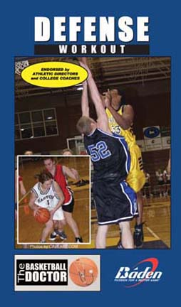 Defense Workout - Basketball Training Video (VHS)