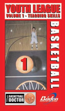Youth League Basketball Teaching Skills Basketball Training Video (Volume 1) (VHS)