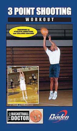 Three Point Shooting Workout Basketball Training Video (VHS)
