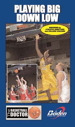 Playing Big Down Low Basketball Training Video (VHS)