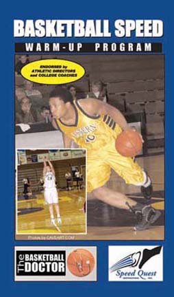 Basketball Speed Warmup Program Basketball Training DVD