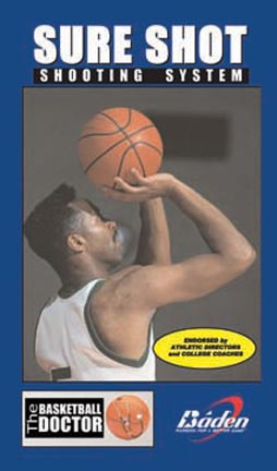Sure Shot Shooting System Basketball Training Video (VHS)