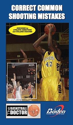 Correct Common Shooting Mistakes Basketball Training Video (VHS)