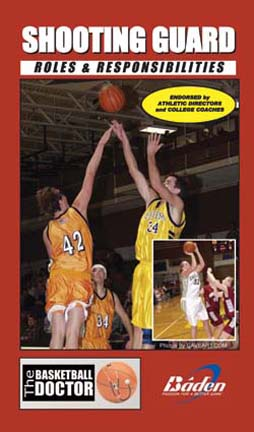 The Shooting Guard Roles & Responsibilities Basketball Training DVD