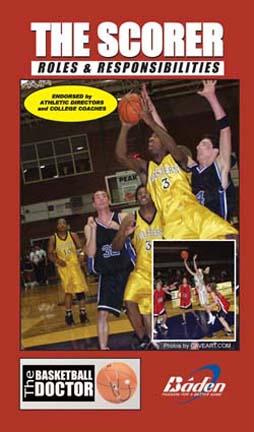 The Scorer - Basketball Training Video (VHS)