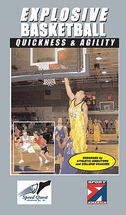 Explosive Basketball:  Quickness & Agility Basketball Training Video (VHS)