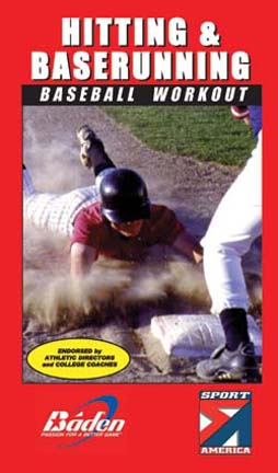 Hitting and Base Running Workout Baseball Training DVD