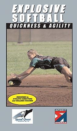 Explosive Softball - Quickness and Agility  Softball Training Video (VHS)