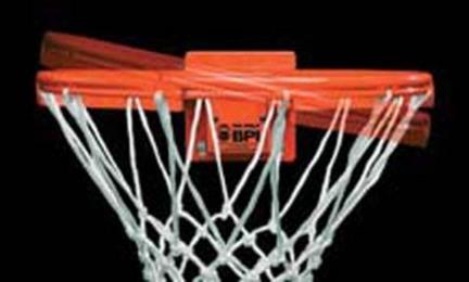 SlamDunk® Precision 180sb Basketball Rim from Spalding