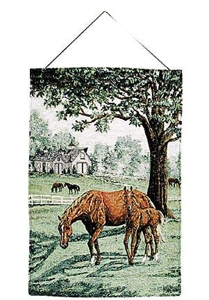 """Lazy Meadow 17"""" x 26"""" Tapestry Wall Hanging From Simply Home"""