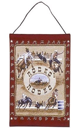"""Rodeo 17"""" x 26"""" Tapestry Wall Hanging From Simply Home"""