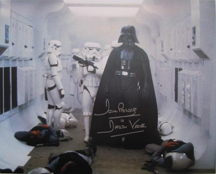 "David Prowse Autographed ""Firefight"" 16"" x 20"" Photograph with ""Darth Vader"" Inscription ("