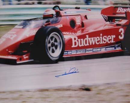 Mario Andretti Autographed