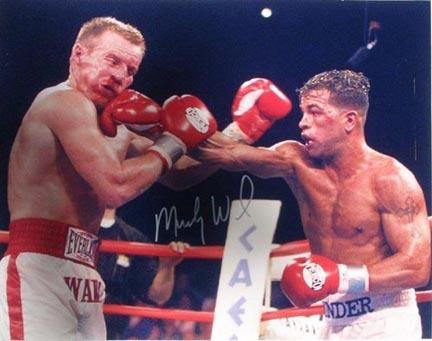 """Mickey Ward Autographed vs. Arturo Gatti 16"""" x 20"""" Photograph (Unframed)"""