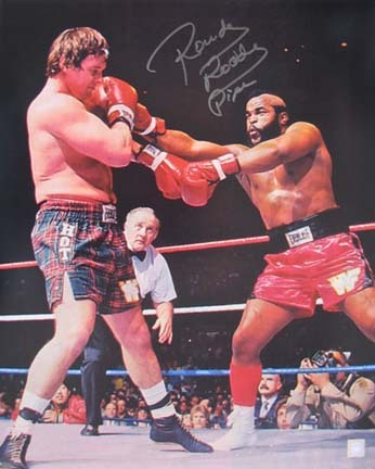 Rowdy Roddy Piper Autographed