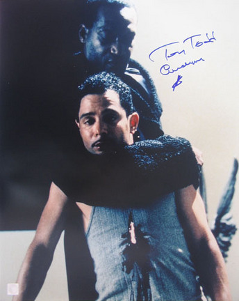 """Tony Todd Autographed """"Hooked - Candyman"""" 16"""" x  20"""" Photograph (Unframed)"""