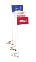"Cart Identification Flag - """"Players Assistant"" STAN-09801"