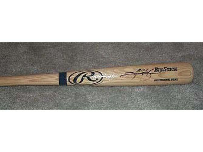 Sammy Sosa Autographed Big Stick Blonde Baseball Bat