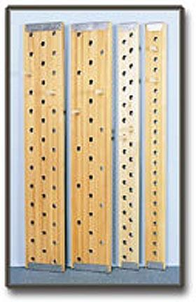 "6' x 6"" Peg Board - 30 Holes"