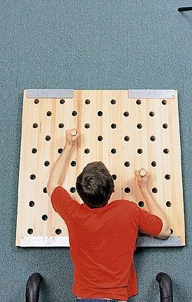 3' x 3' Peg Board - 61 Holes