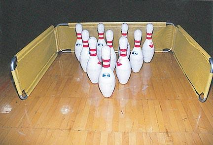 """21""""L x 21""""W x 32""""H Bowling Backstop"""