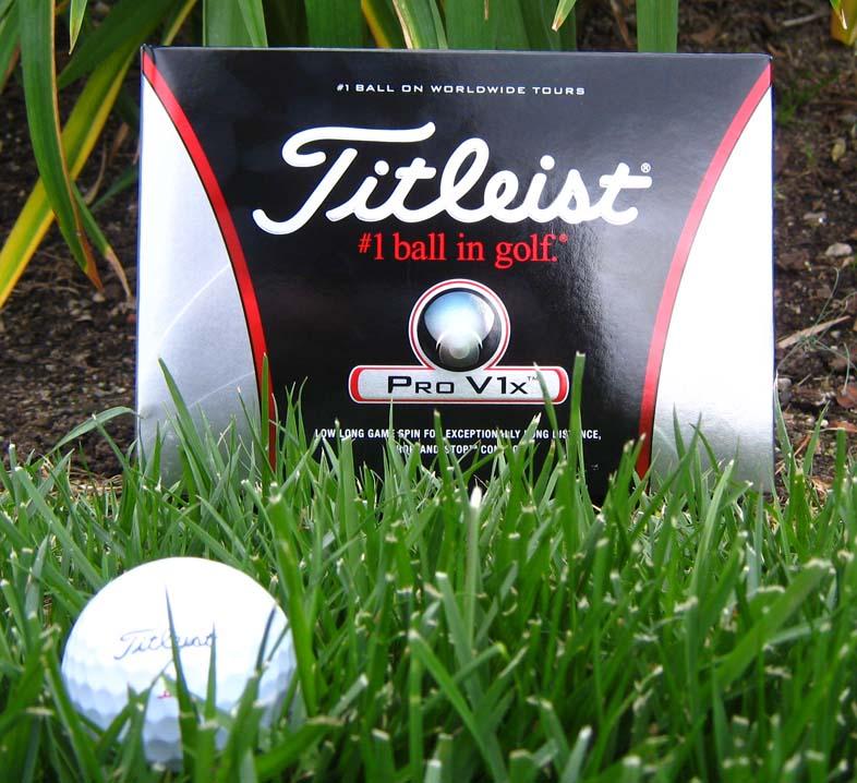 Titleist Pro V1X Golf Balls (#1 - #4) - 1 Dozen