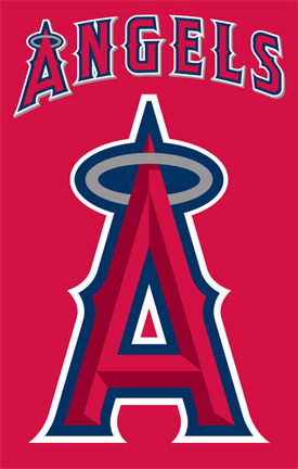 Los Angeles Angels of Anaheim MLB Applique Banner Flag TPA-AFANG