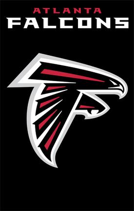 Atlanta Falcons NFL Applique Banner Flag TPA-AFAT