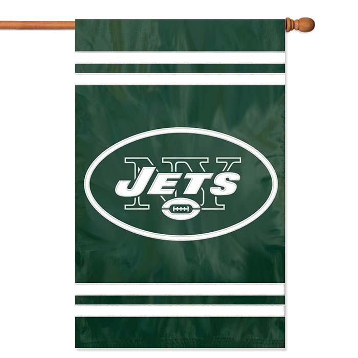 New York Jets NFL Applique Banner Flag TPA-AFJE