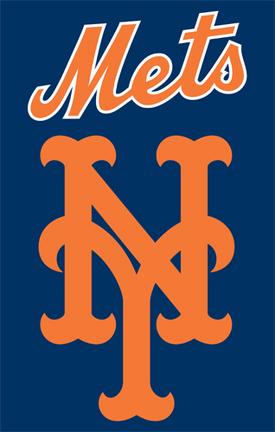 New York Mets MLB Applique Banner Flag TPA-AFNYM