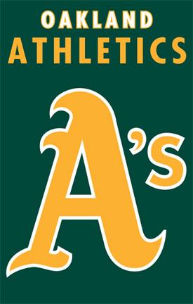 Oakland Athletics MLB Applique Banner Flag TPA-AFOAK