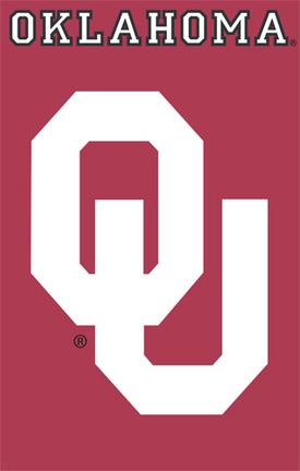 Oklahoma Sooners NCAA Applique Banner Flag TPA-AFOK