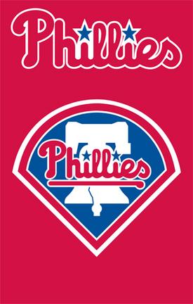 Philadelphia Phillies MLB Applique Banner Flag