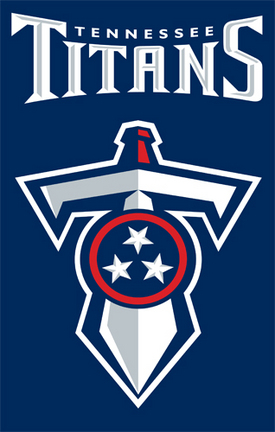 Tennessee Titans NFL Applique Banner Flag TPA-AFTE