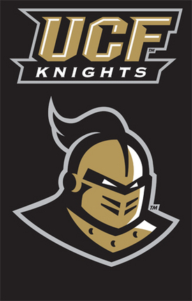 UCF (Central Florida) Knights NCAA Applique Banner Flag TPA-AFUCF