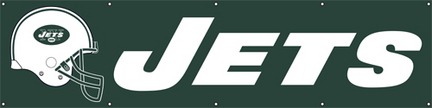 New York Jets NFL 8-Foot Banner TPA-BJE