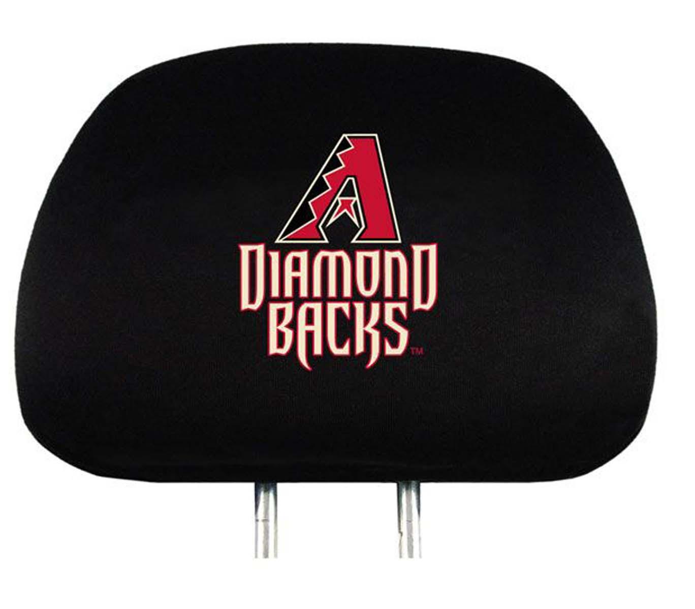 Arizona Diamondbacks Head Rest Covers - Set of 2