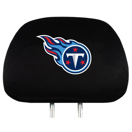 Tennessee Titans Head Rest Covers - Set of 2
