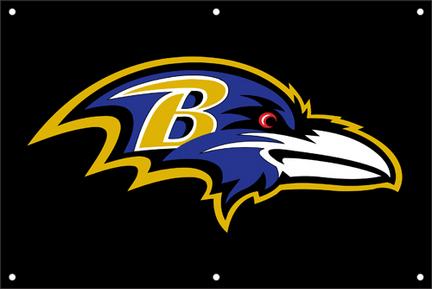 Baltimore Ravens NFL Fan Banner