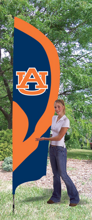 Auburn Tigers NCAA Tall Team Flag with Pole TPA-TTAU