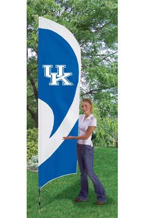 Kentucky Wildcats NCAA Tall Team Flag with Pole TPA-TTKE
