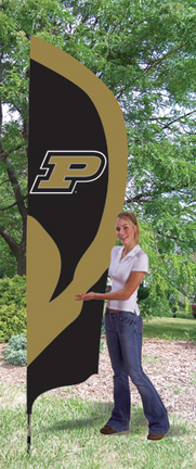Purdue Boilermakers NCAA Tall Team Flag with Pole TPA-TTPU