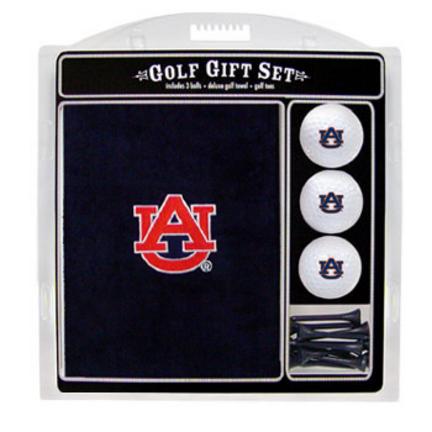 Auburn Tigers Golf Balls, Golf Tees, and Embroidered Towel Set (20520 Team Golf) photo