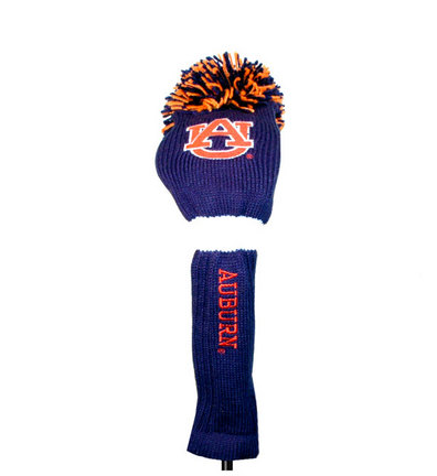 Auburn Tigers Pom Pom Golf Headcover (Set of 2)