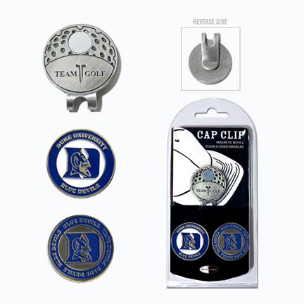 Duke Blue Devils Golf Marker and Cap Clip Pack